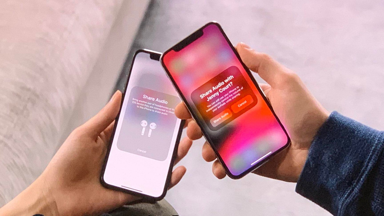 Bluetooth LE Audio borrows Apple's Audio Sharing feature.
