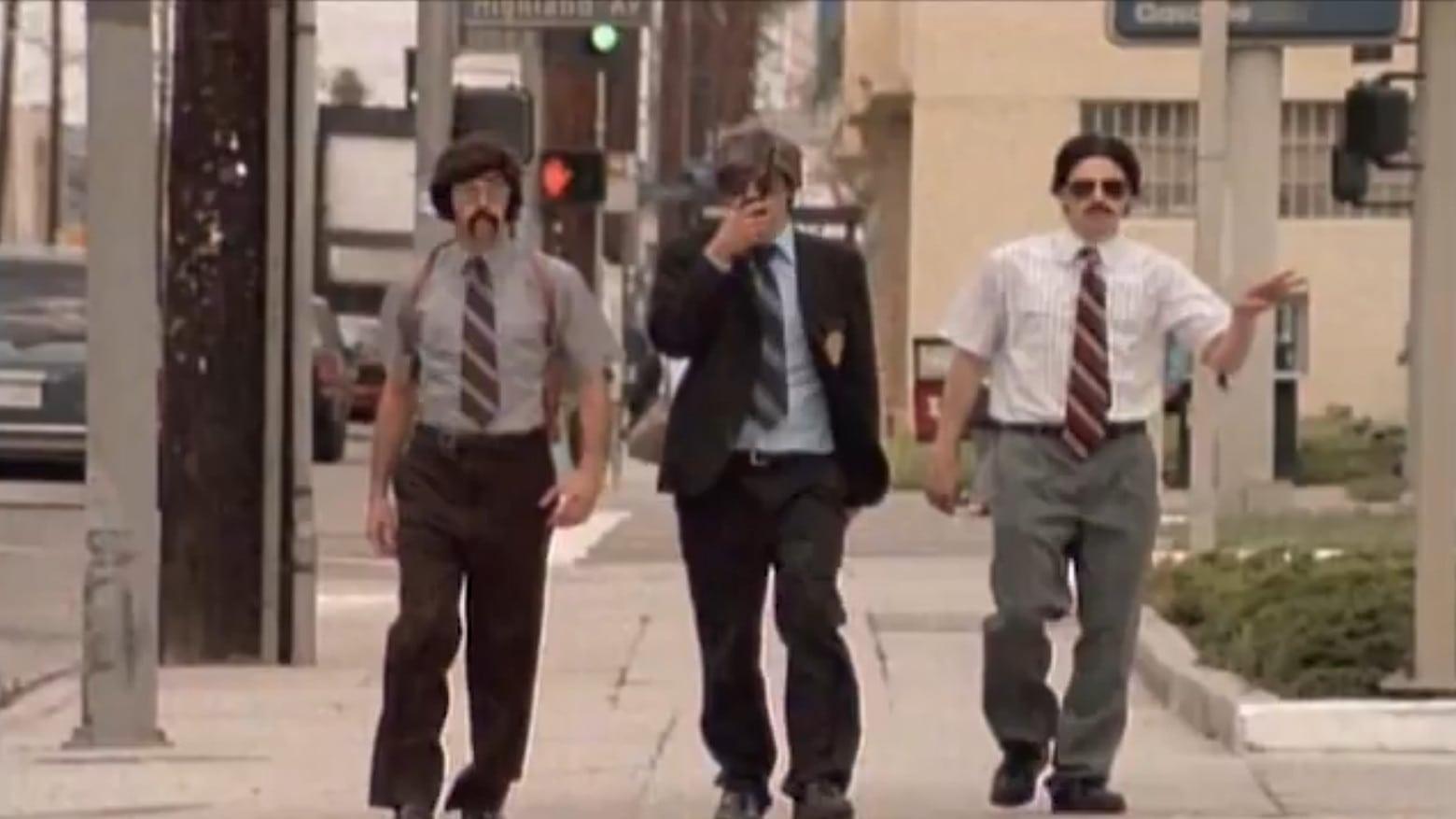 "Spike Jonze directed Beastie Boys in ""Sabotage"""