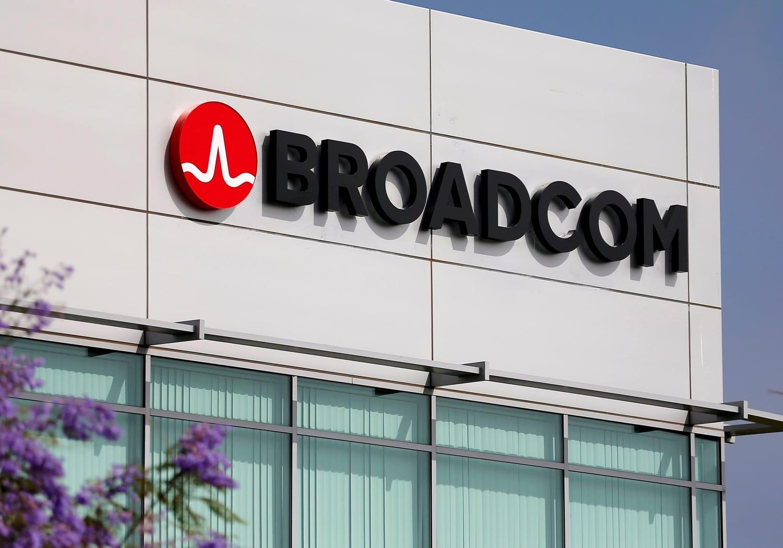 Broadcom.logo.on.building