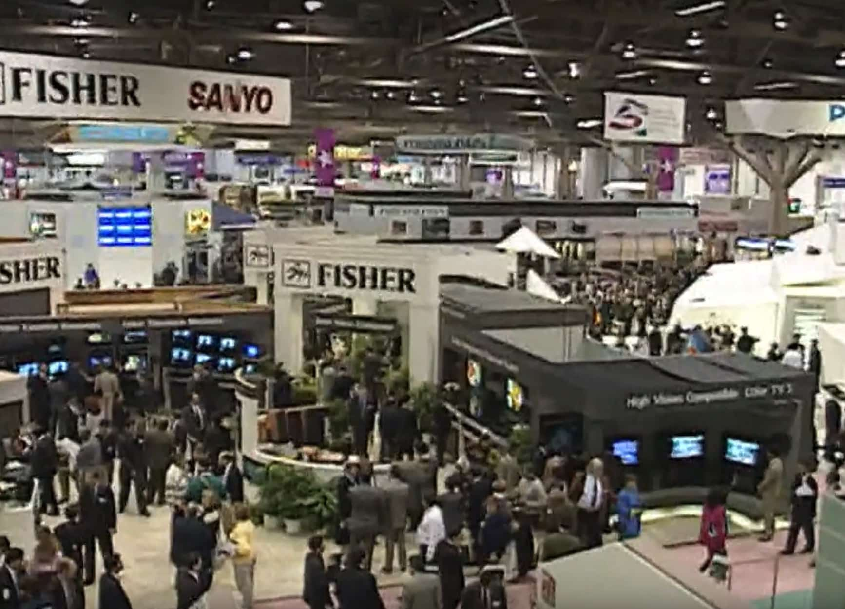 CES sure has changed a lot since Apple was last there in 1992