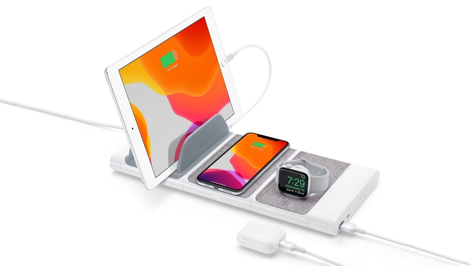 Scosche BaseLynx Modular Charging System Pro Kit is four chargers in one.