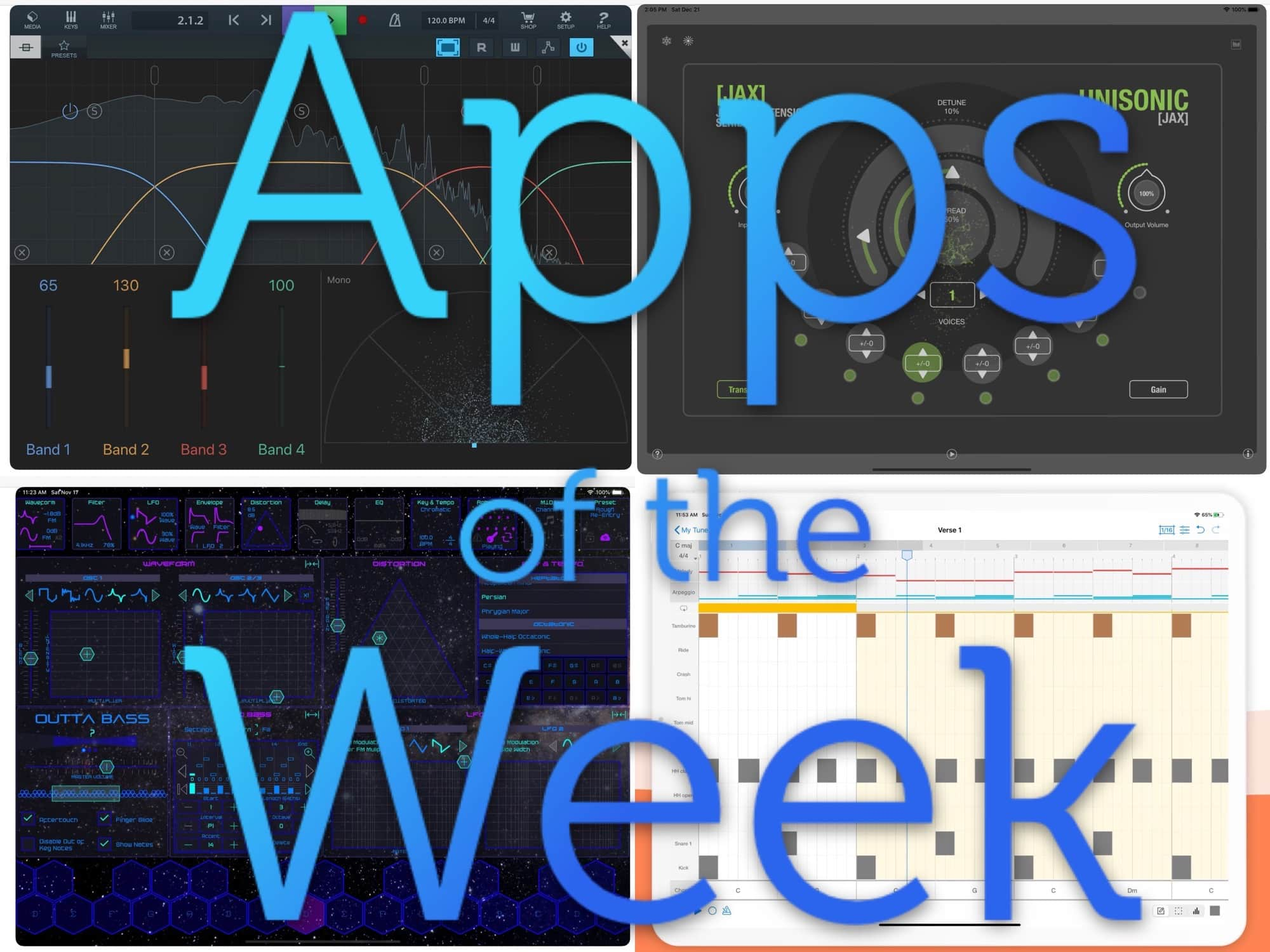 Yes, more music apps again this week.
