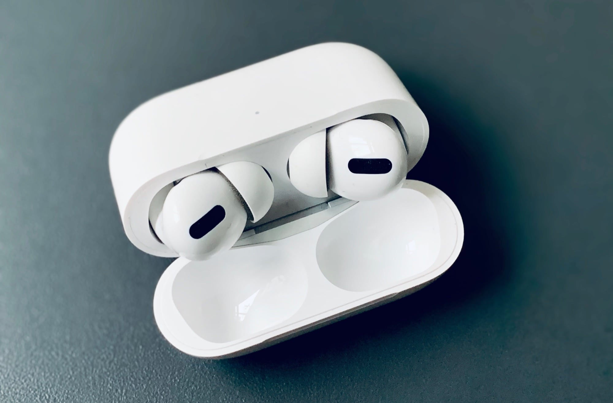They AirPods Pro fit in their case like nothing ever happened.
