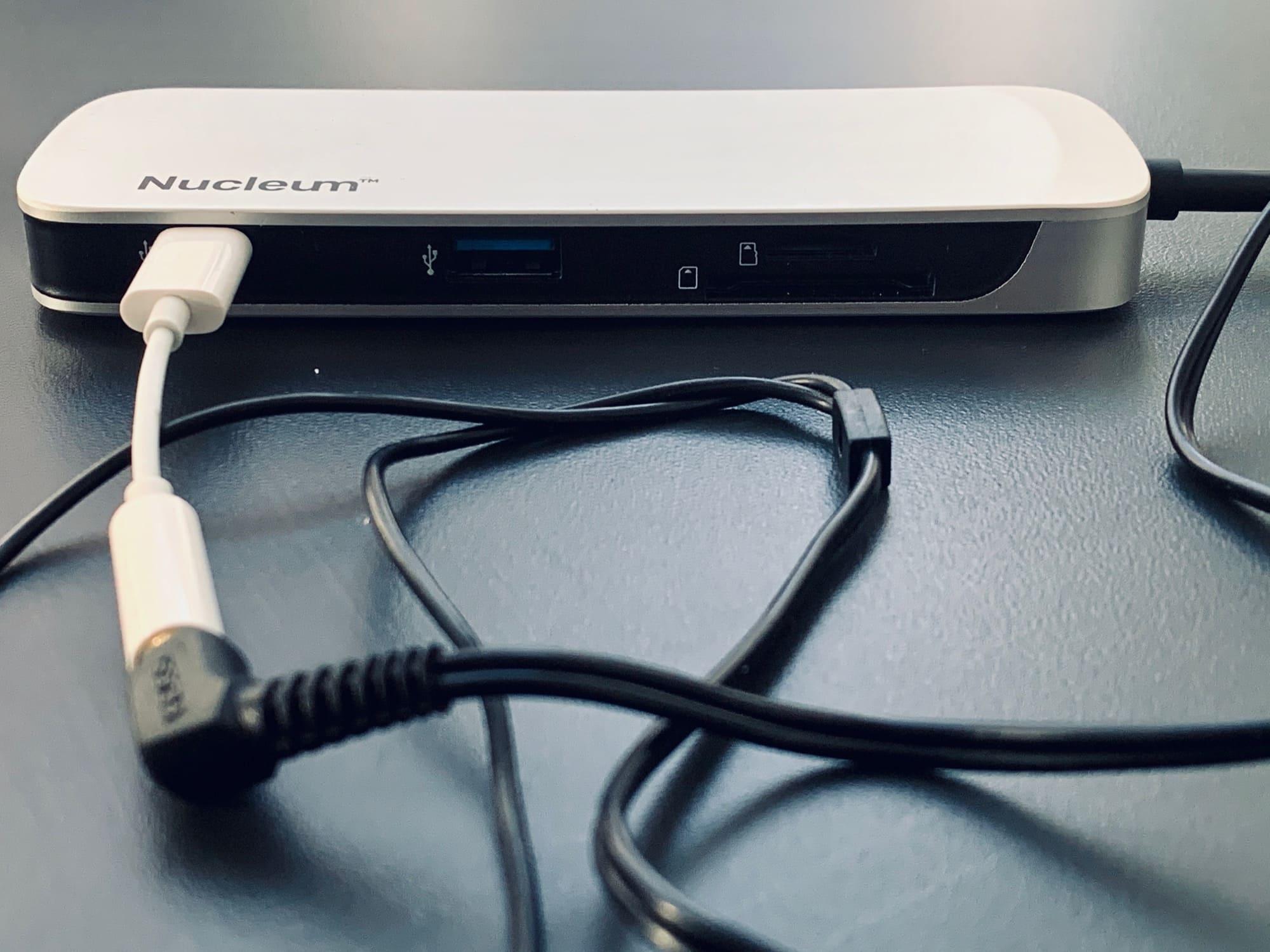 USB-C headphone adapter