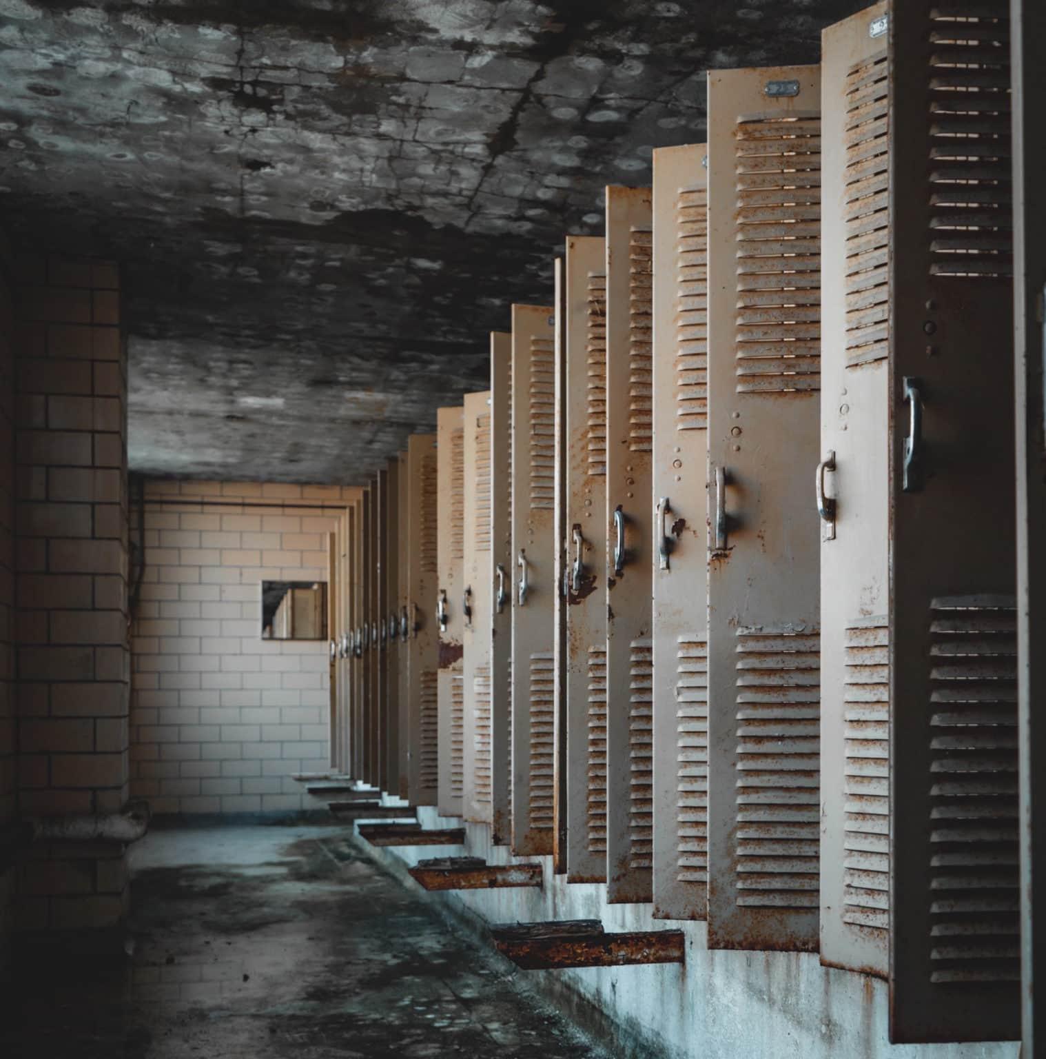 iCloud backups locker room