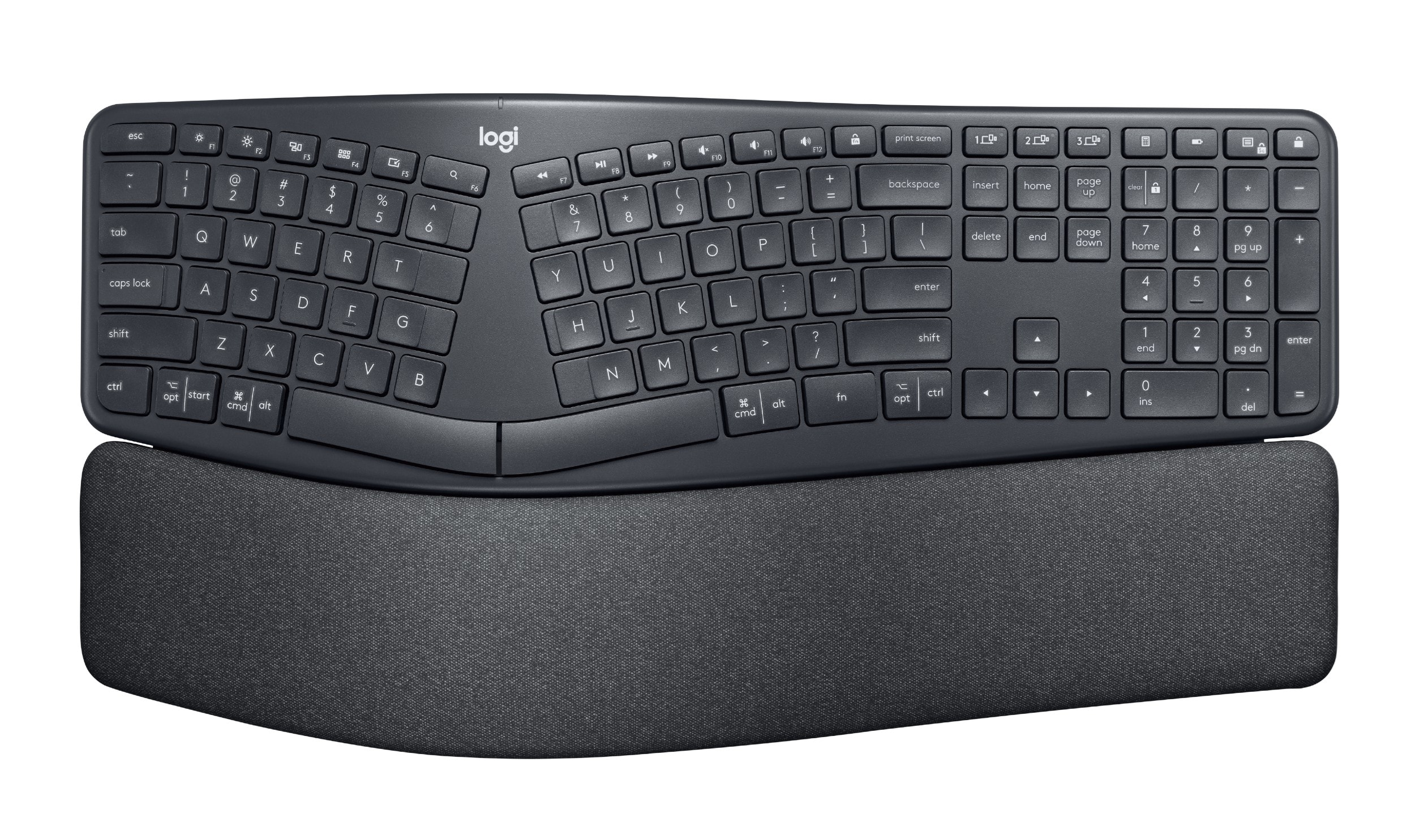 The Logitech Ergo K860 offers pretty much every key you need.