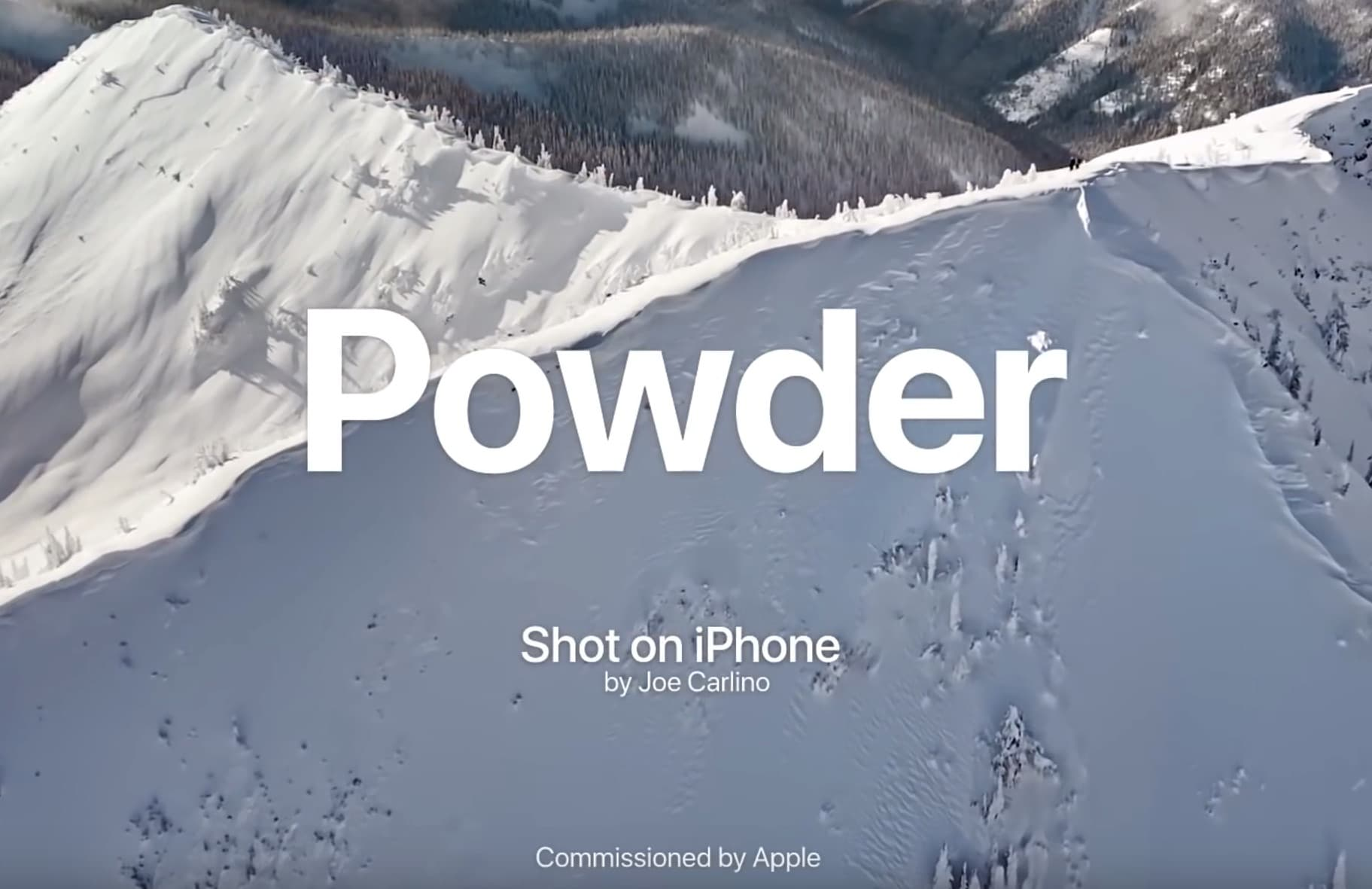Exclusive: Videographer behind latest Apple ad talks shooting snowboarding on iPhone