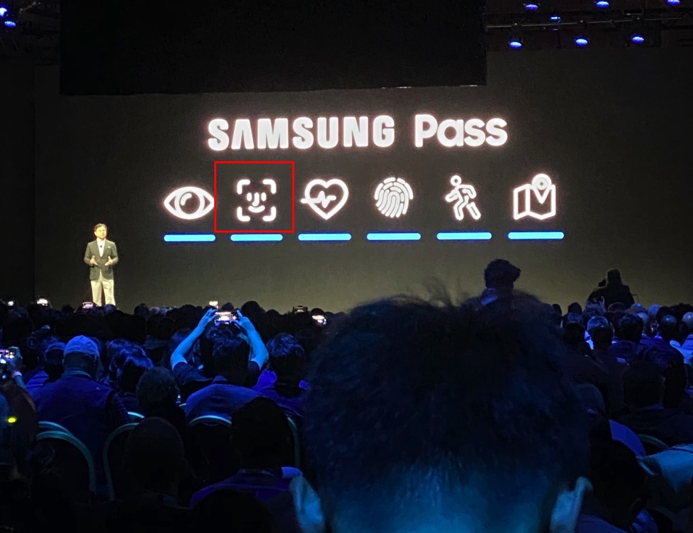 Samsung Pass logo