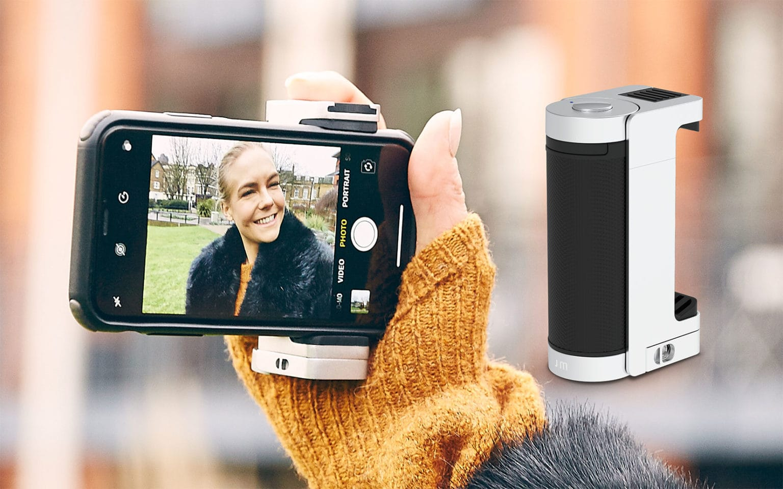 ShutterGrip2 for smartphone photography