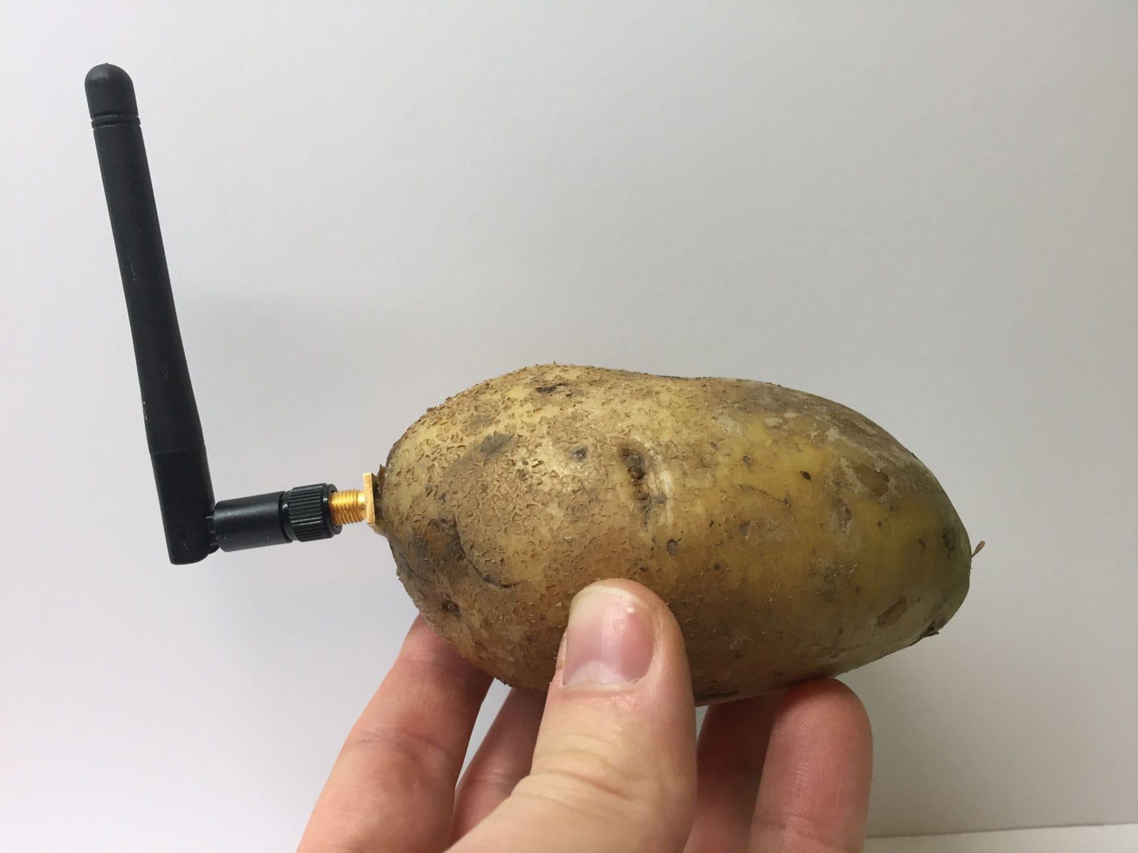Smart Potato gag at CES 2020