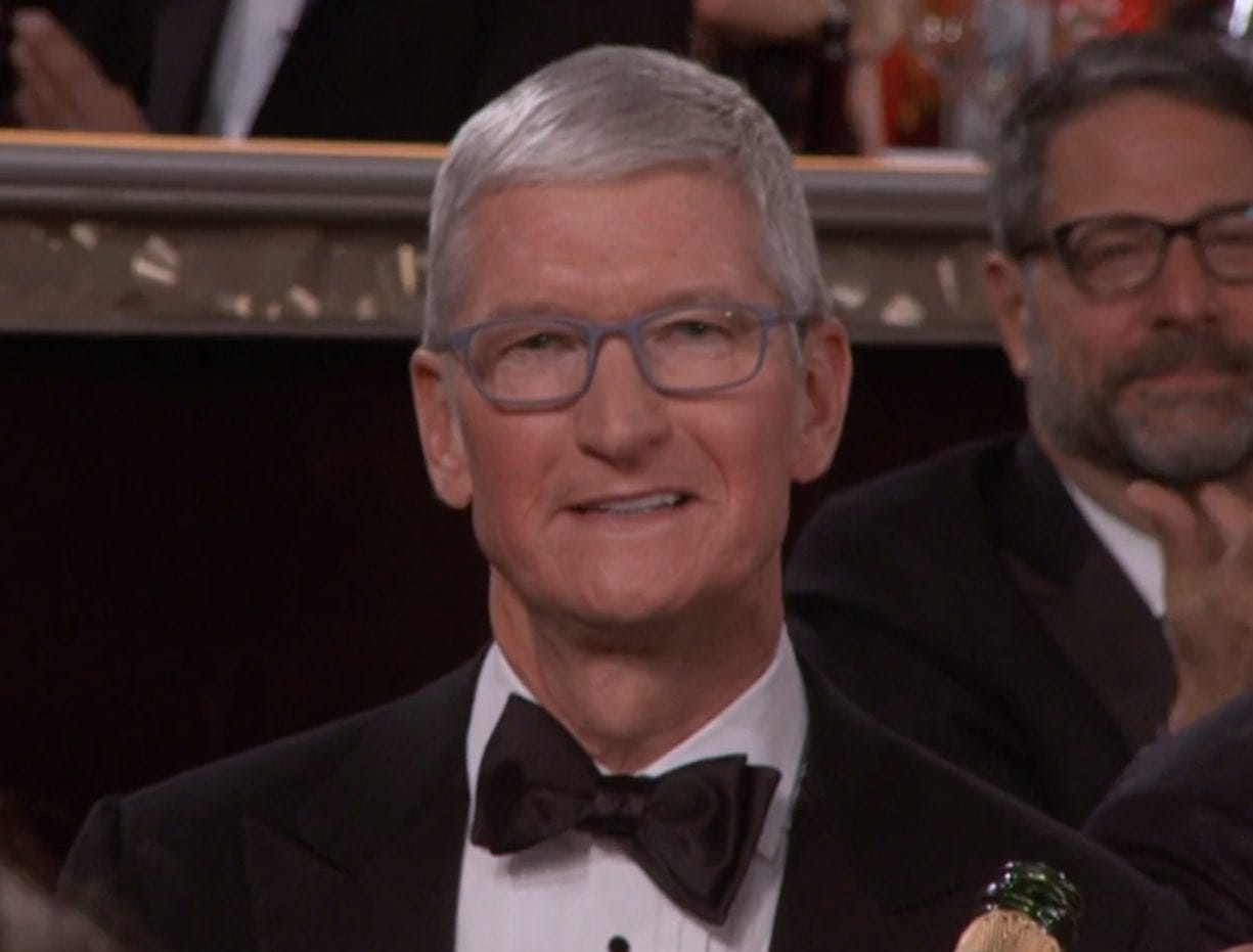 Tim Cook Golden Globes