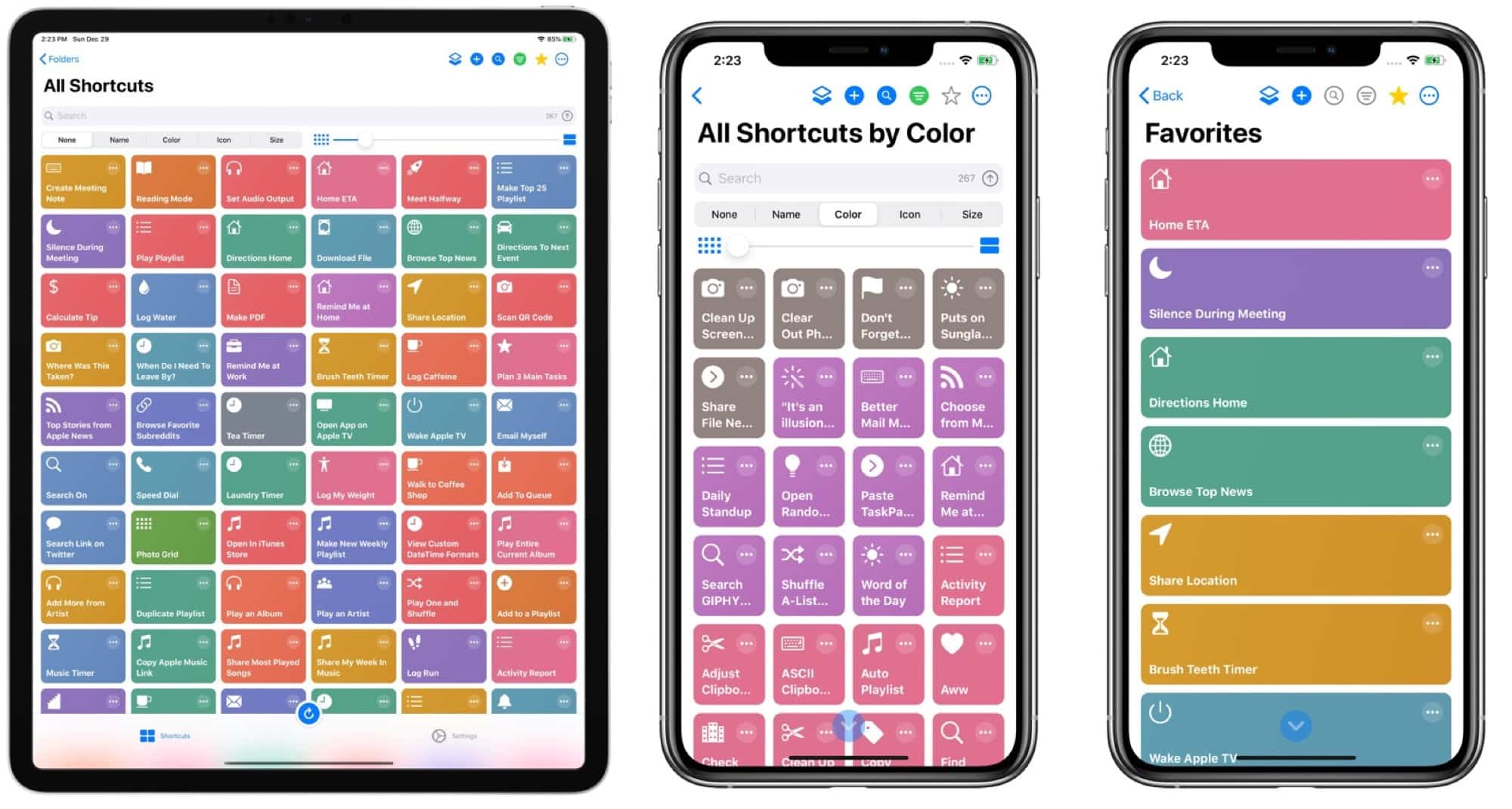 Clean up your shortcuts with LaunchCuts.