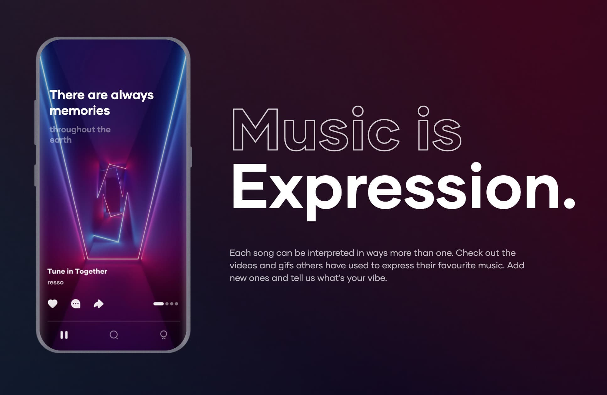 The vibe on TikTok's Resso service is totally different than Apple Music