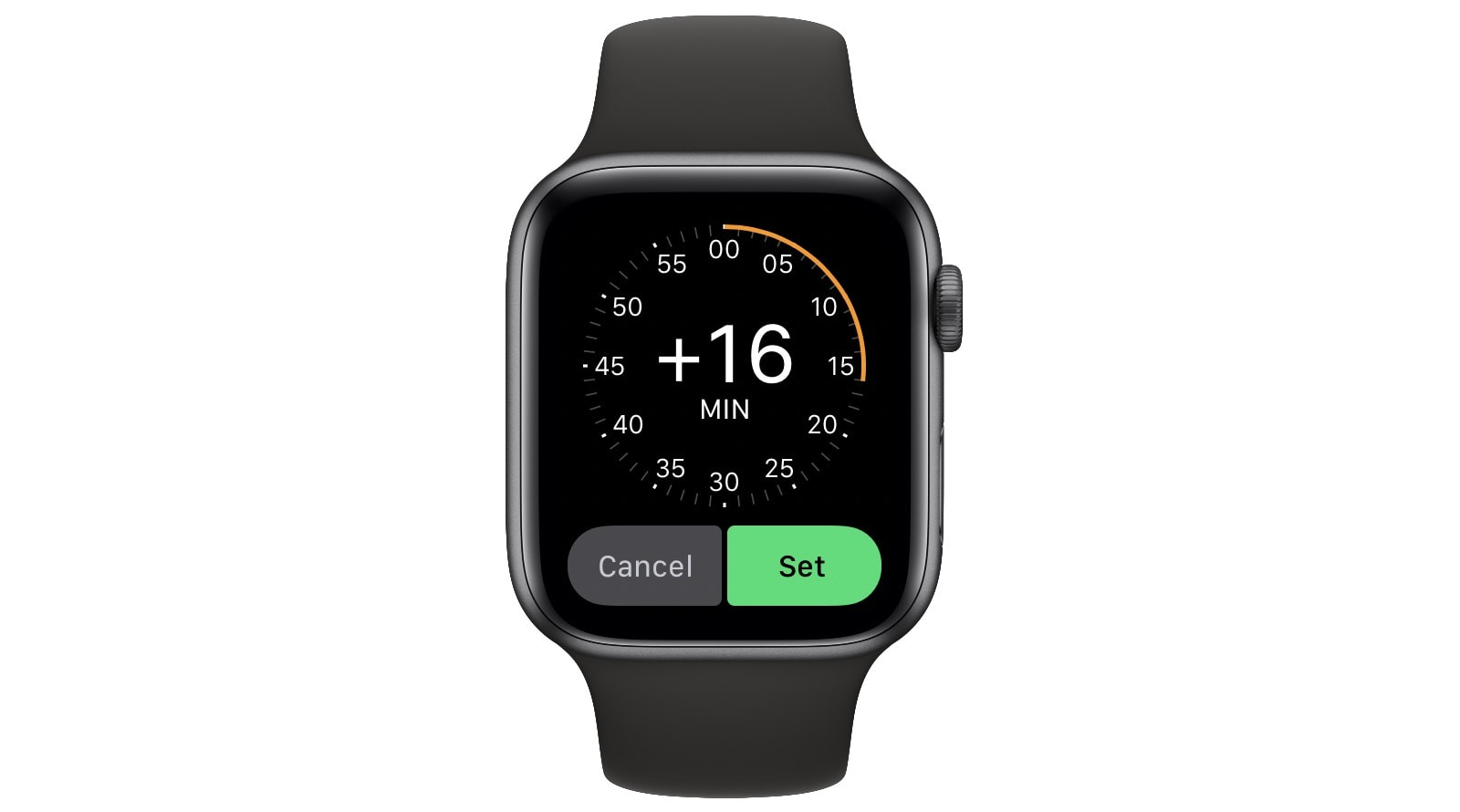You can decrease the accuracy of your Apple Watch by up to 59 minutes.