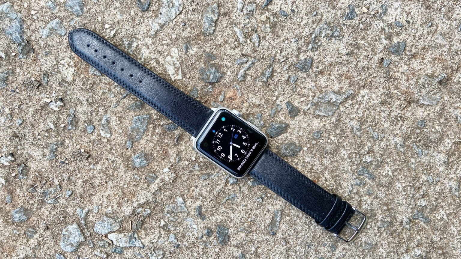 Speidel Royal English Leather Apple Watch Band review