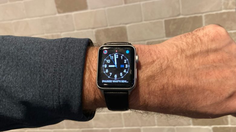 Speidel Royal English Leather Apple Watch Band review: This luxury band closely matches the look of the Apple Watch.