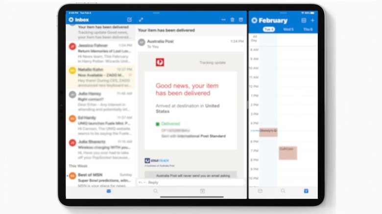 Microsoft Outlook for iPad