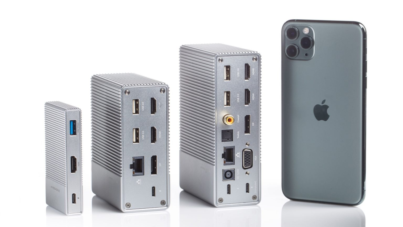 HyperDrive GEN2 offers up to 18 ports.