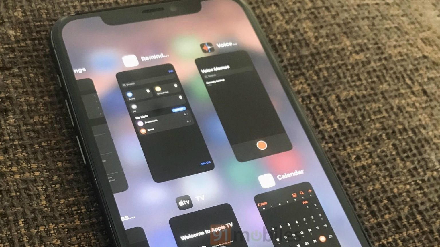 iOS 14 multitasking system borrows from iPadOS