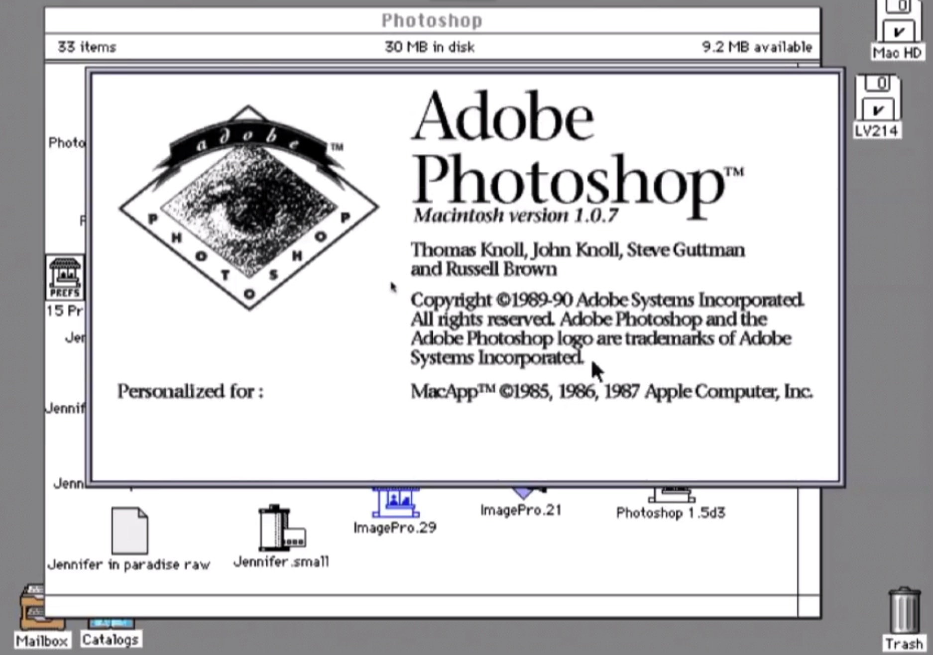 Adobe Systems' Photoshop launch changed the game for image editing.