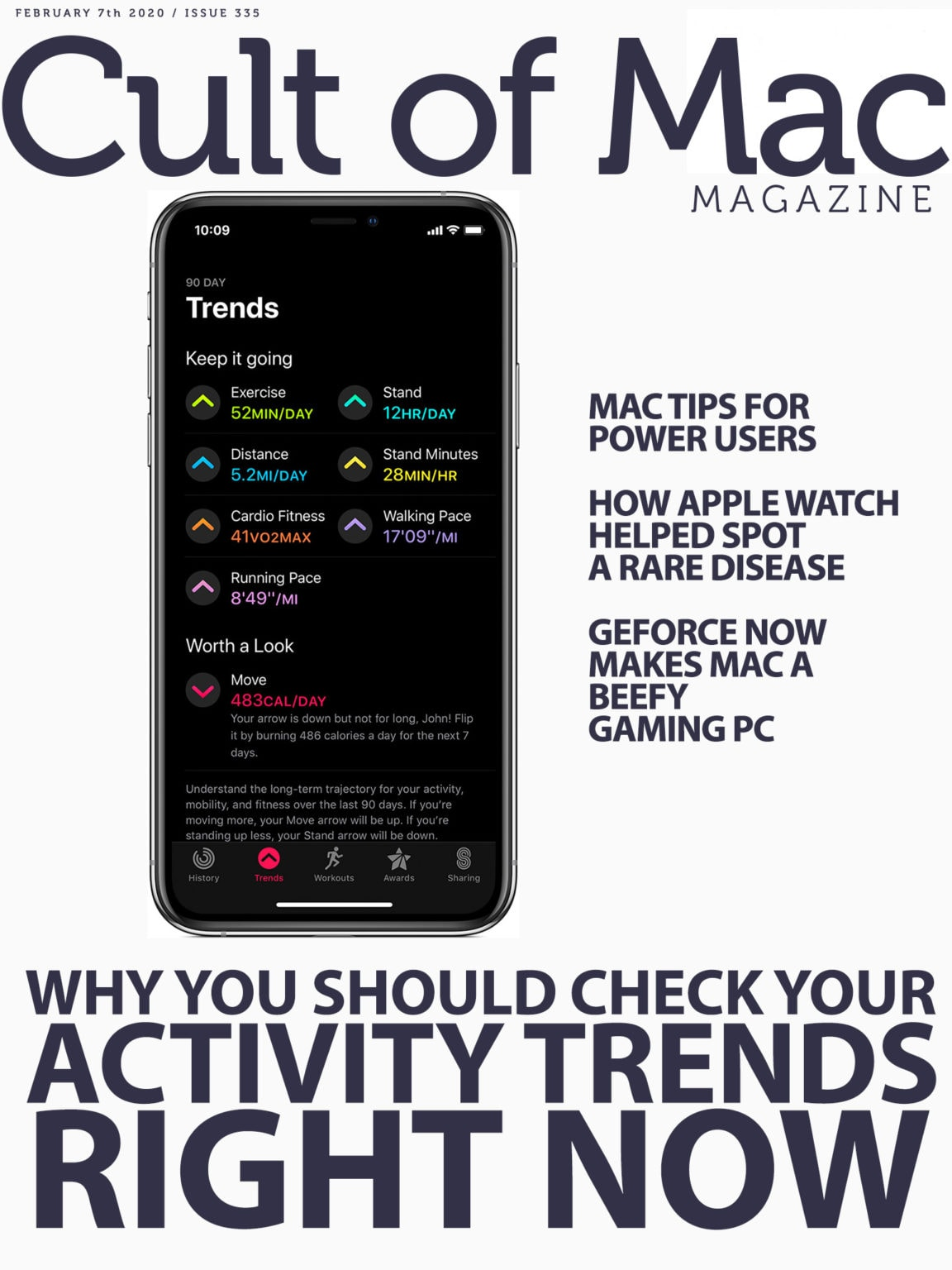 Check your Apple Watch Activity Trends: Find out how to decipher the data hiding behind the Activity app's new tab.