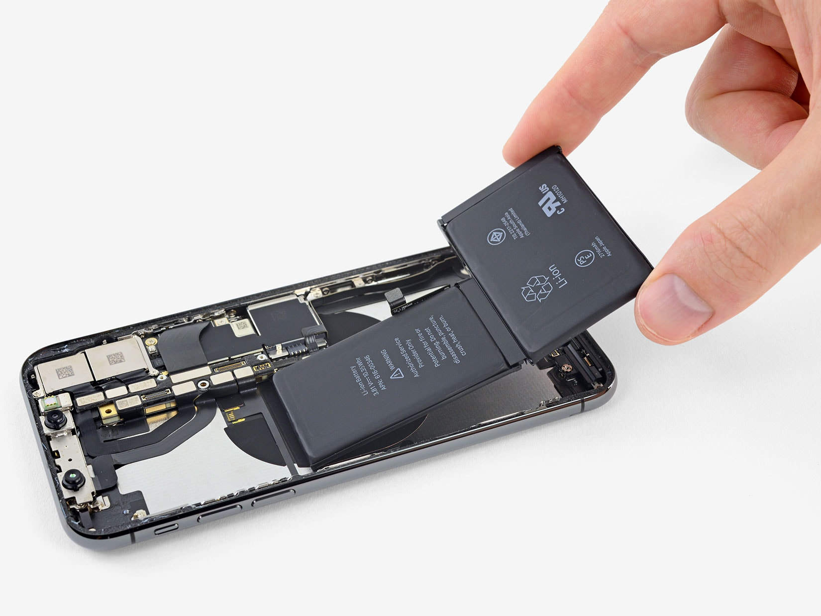 changing battery on iPhone X