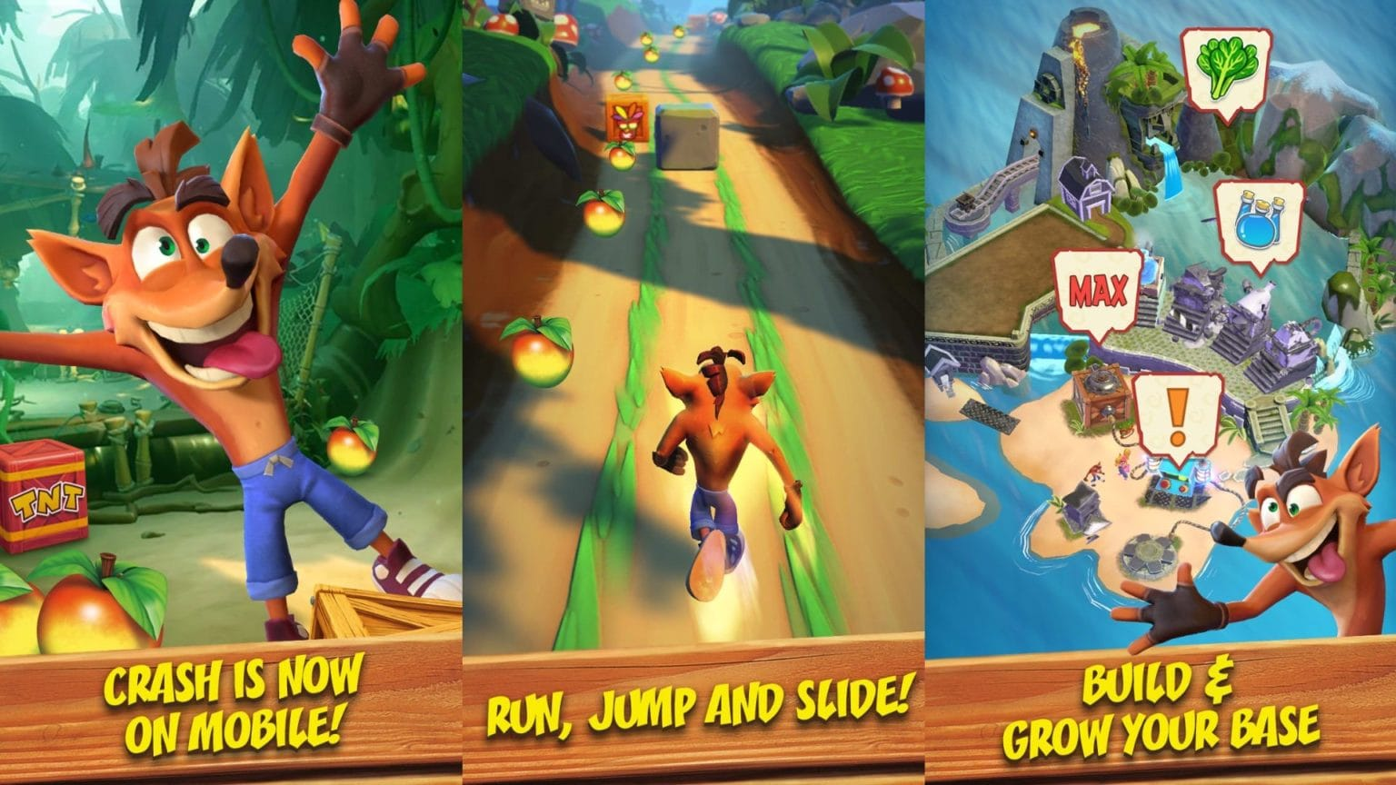 Crash Bandicoot is getting his first new mobile game in 10 years