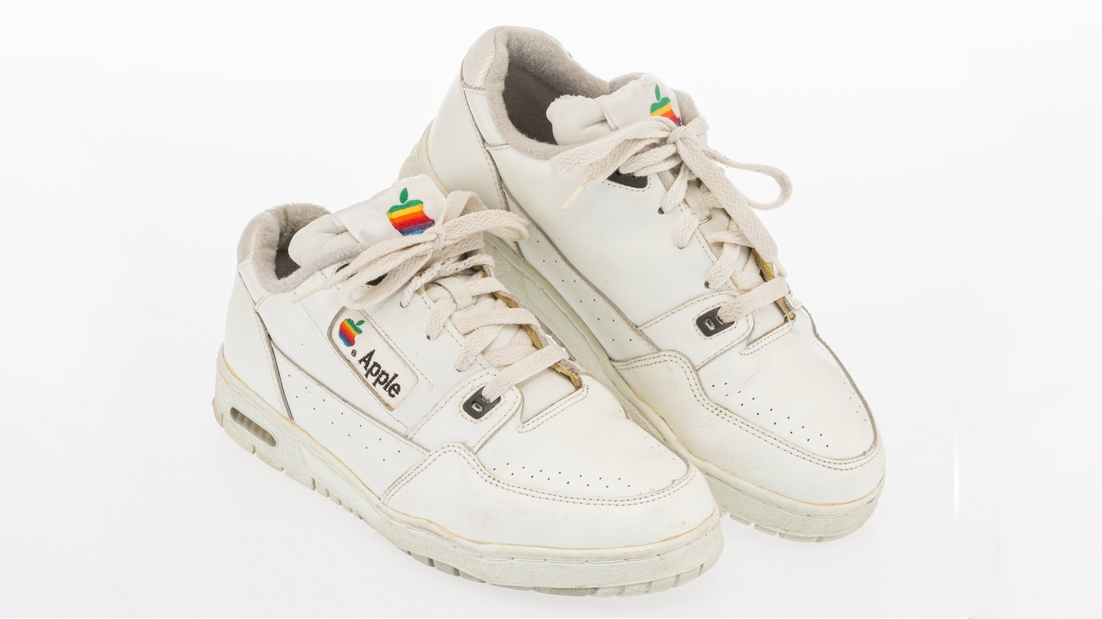 Apple sneakers are a momento of the bad old days at Apple.