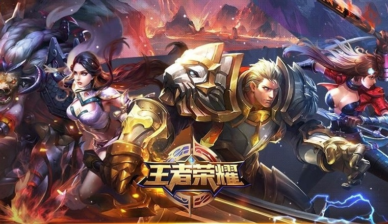 "Millions play the Chinese games ""Kings of Glory"" and ""Arena of Valor."""