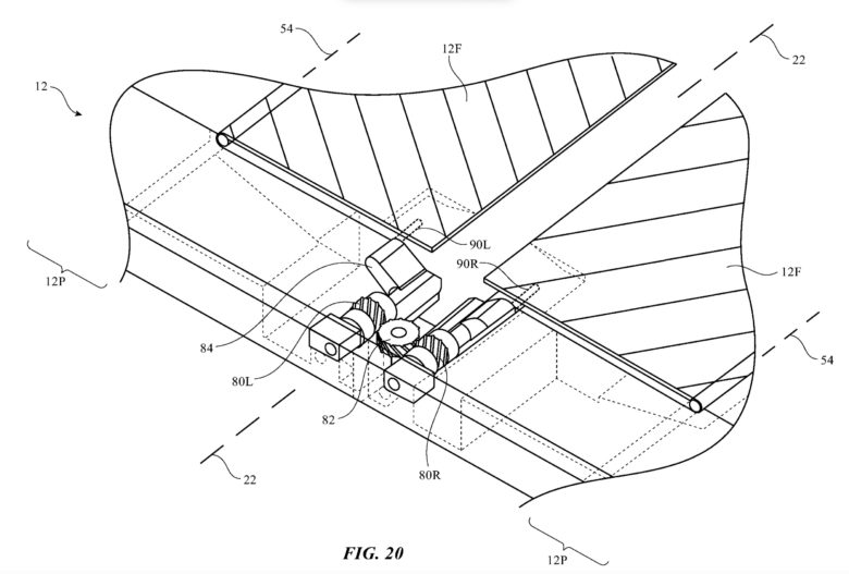 Apple's folding patent