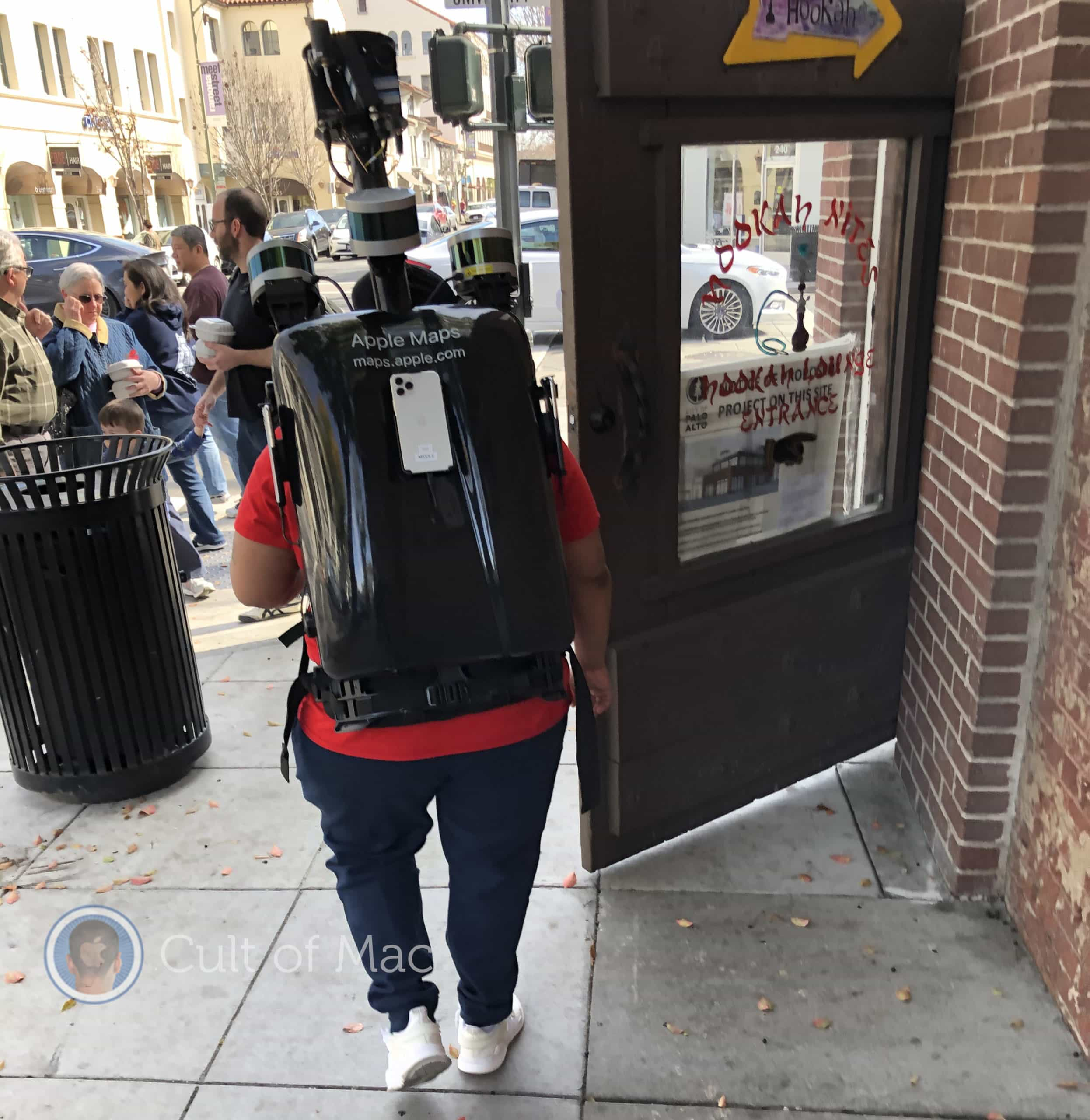 Have you seen one of these guys walking around your city with an upgraded Apple Maps backpack with iPhone 11 Pros?