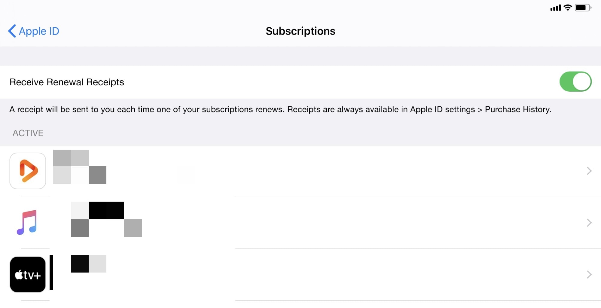 Opt out of subscription-renewal emails here.