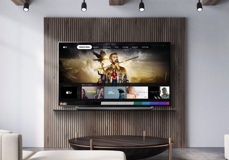 LG UM6X UHD in room