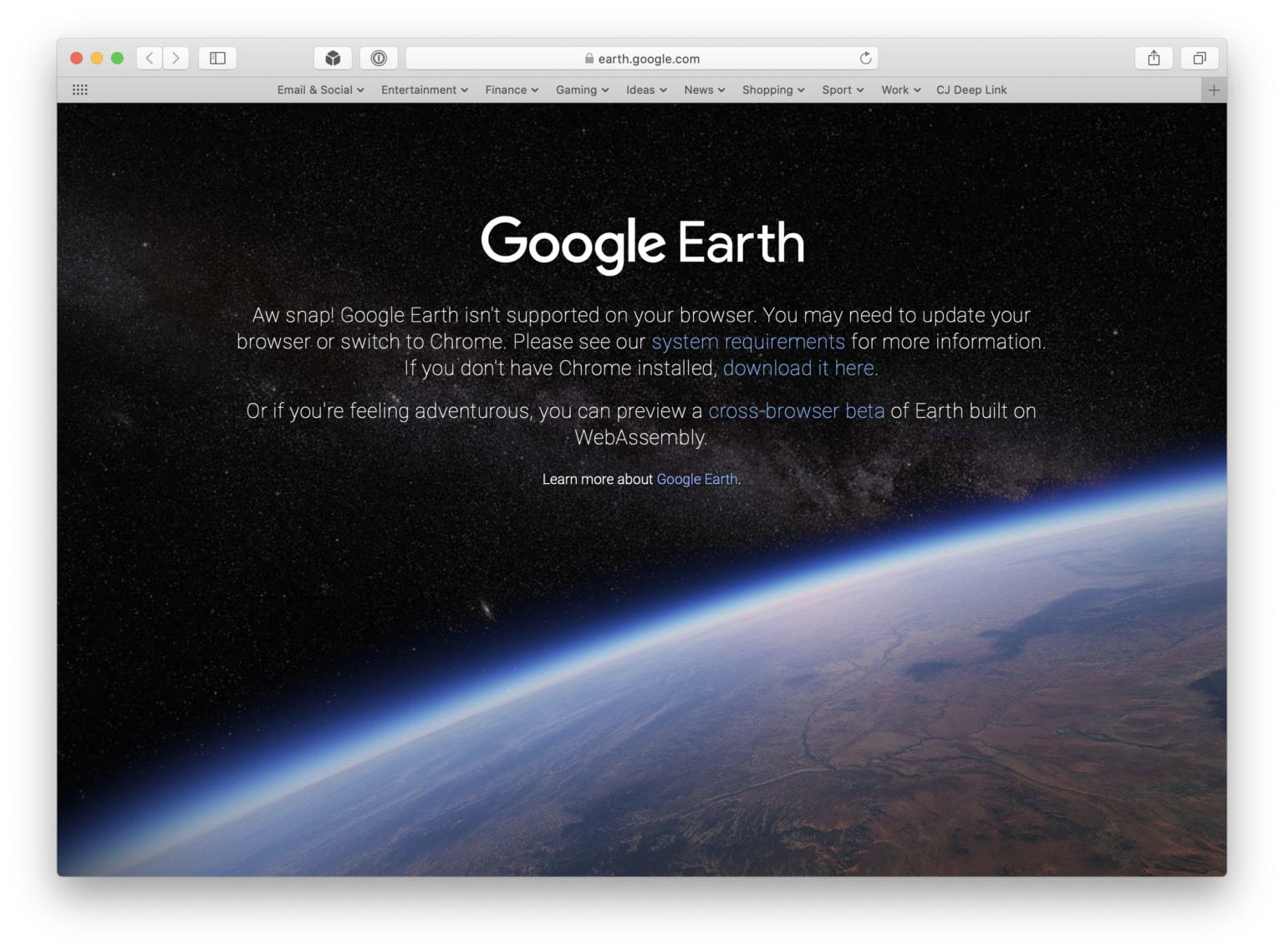 Google-Earth-Safari