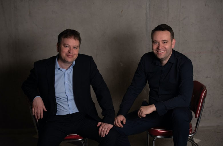 Blix co-founders Dan and Ben Volach