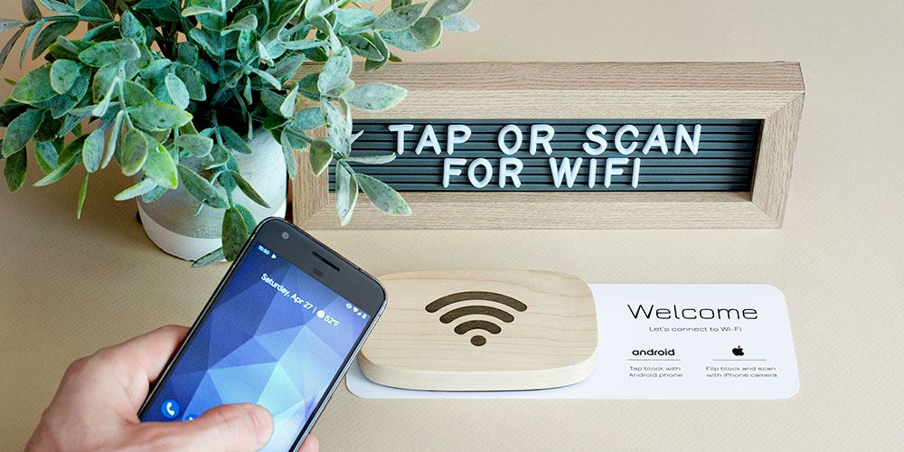 Wifi Porter- NFC-Enabled Device