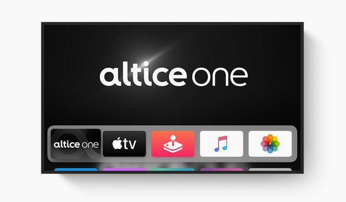 Altice One on Apple TV