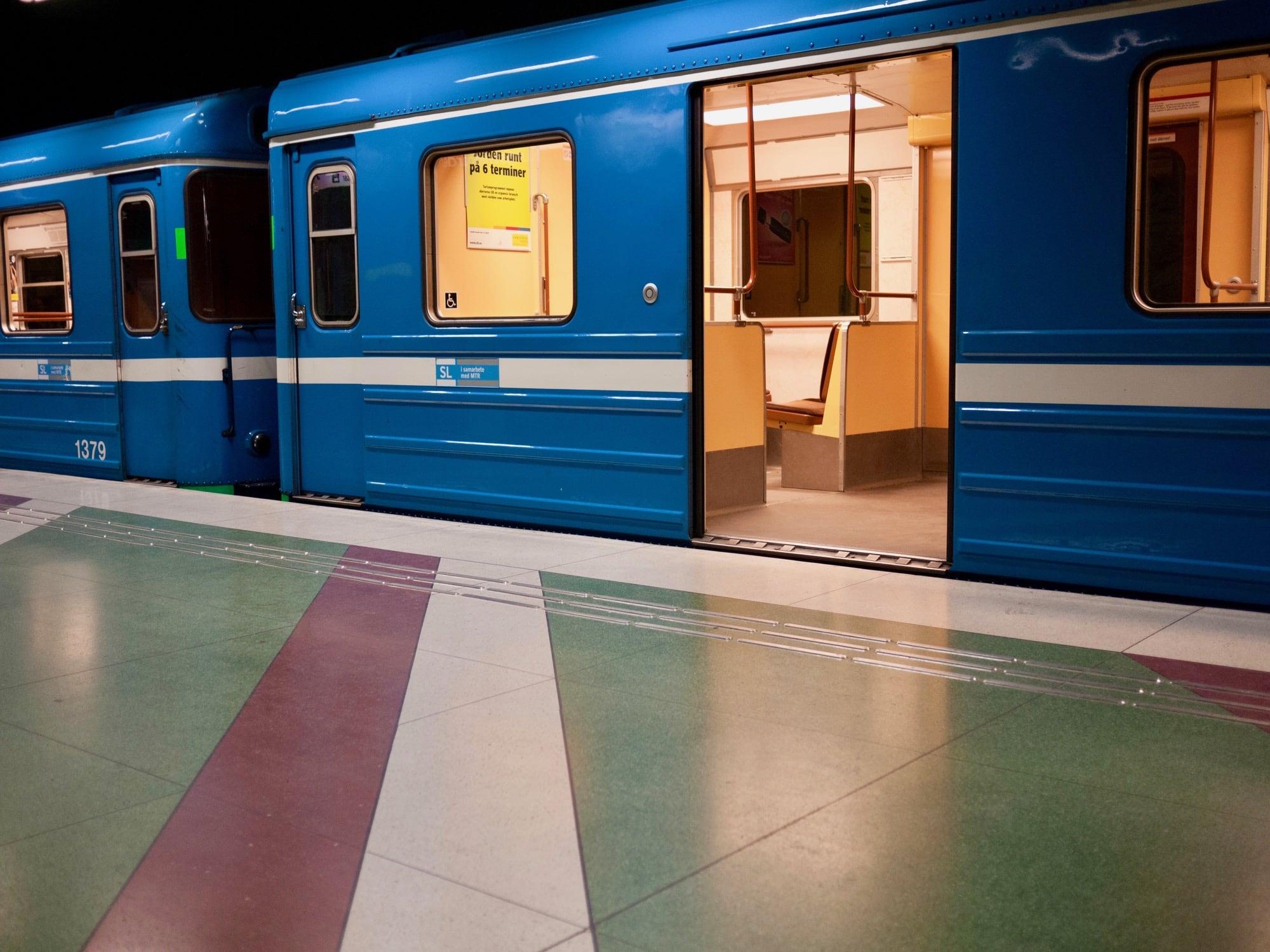 Stockholm's excellent public transit.