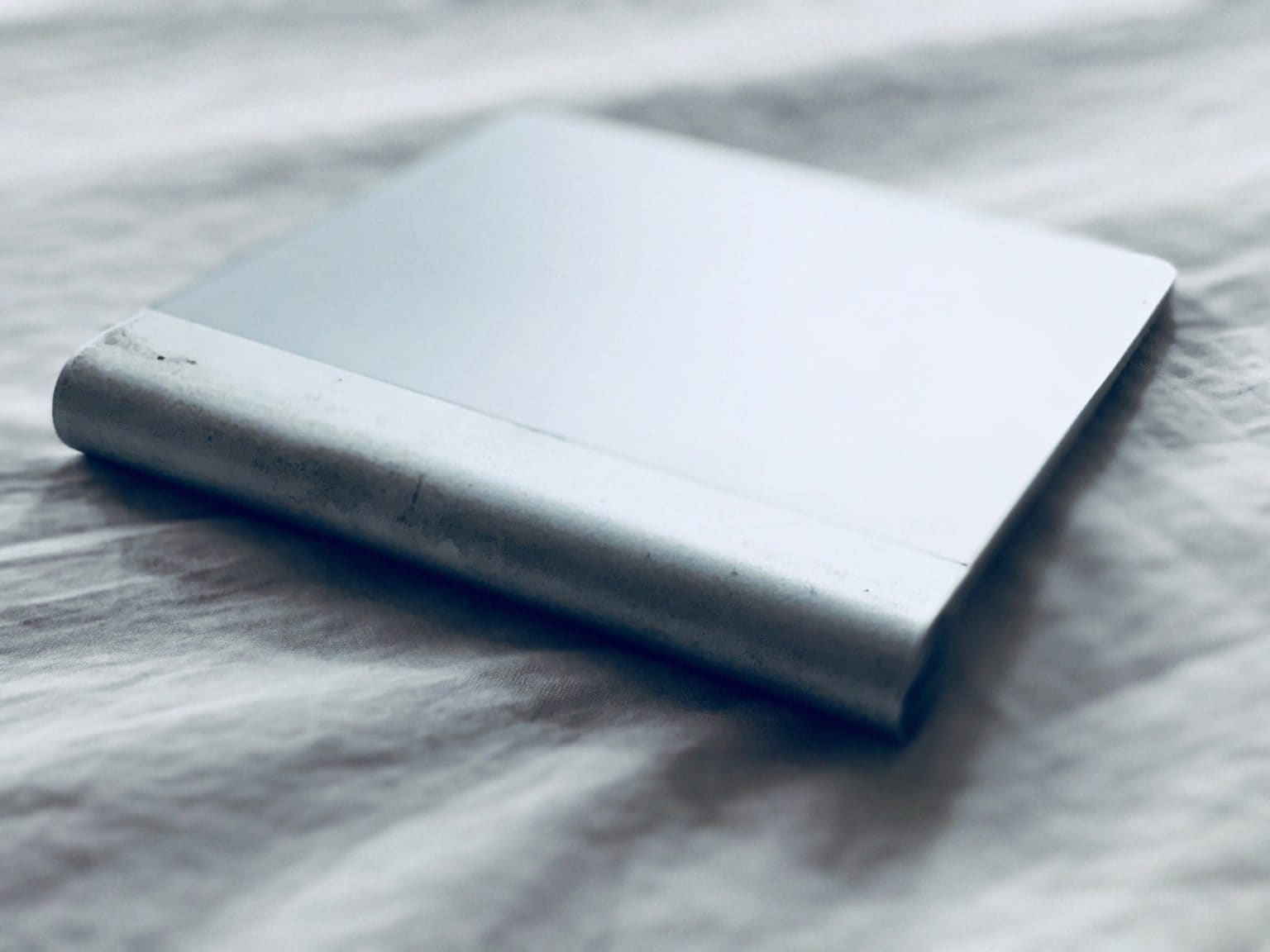 Trackpad upside-down