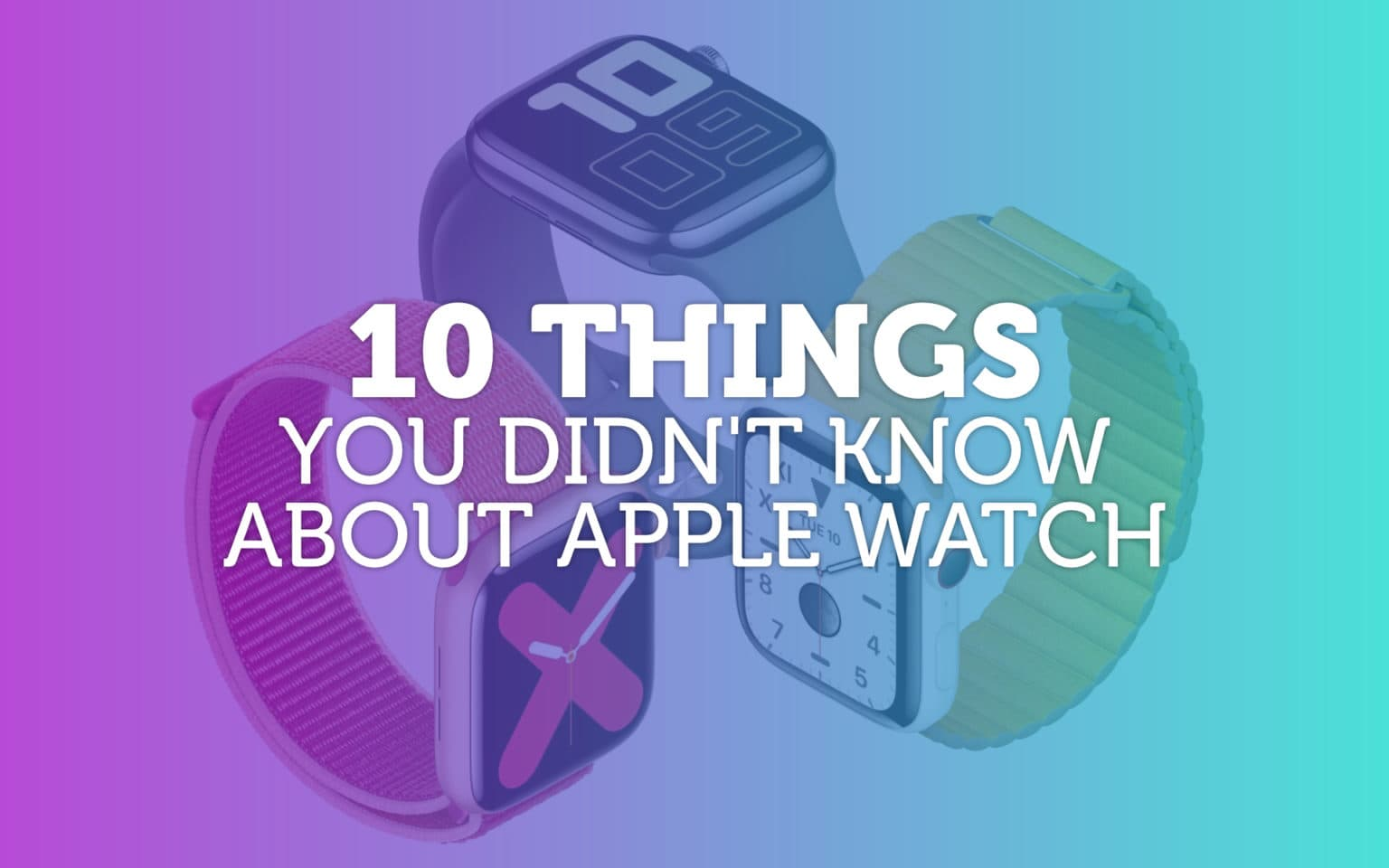 Apple Watch trivia: You can't make this stuff up.