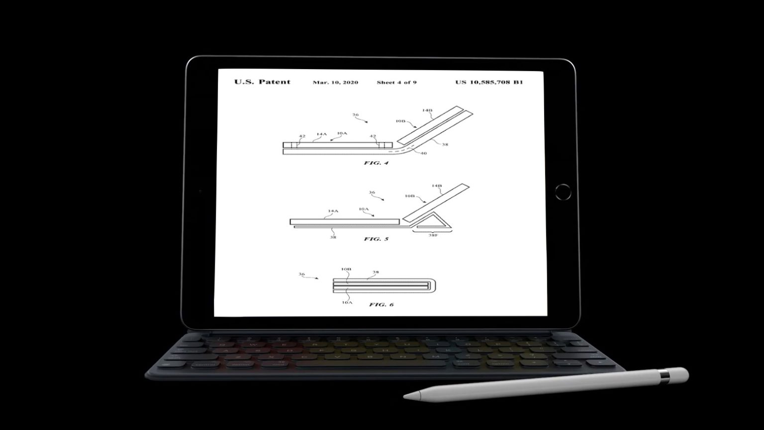An Apple patent shows the advantages of a dual-screen iPhone or iPad.