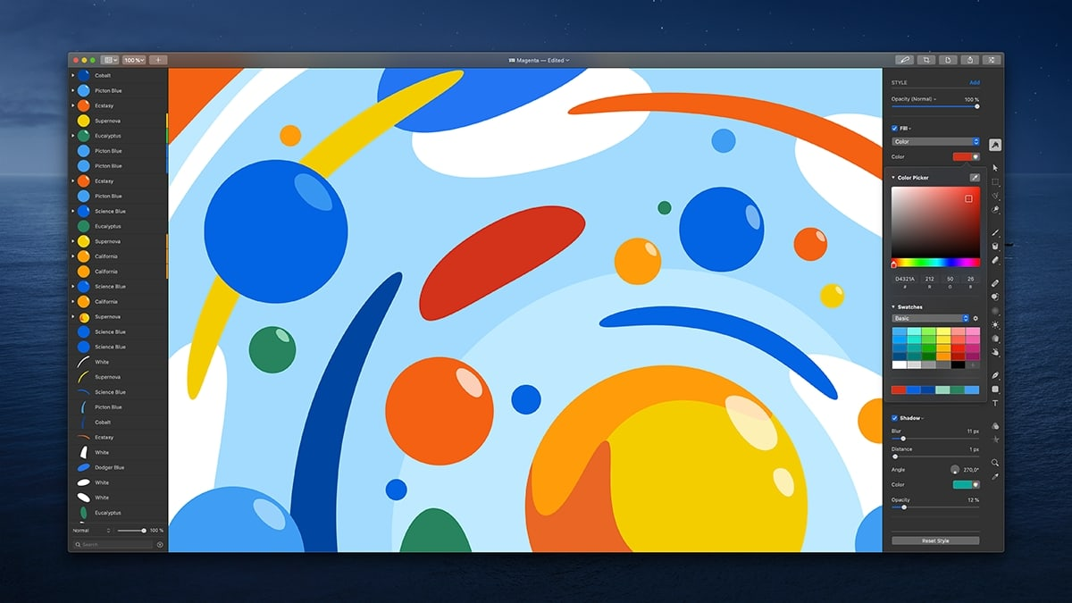 Pixelmator Pro 1.6 offers an performance boost, too.