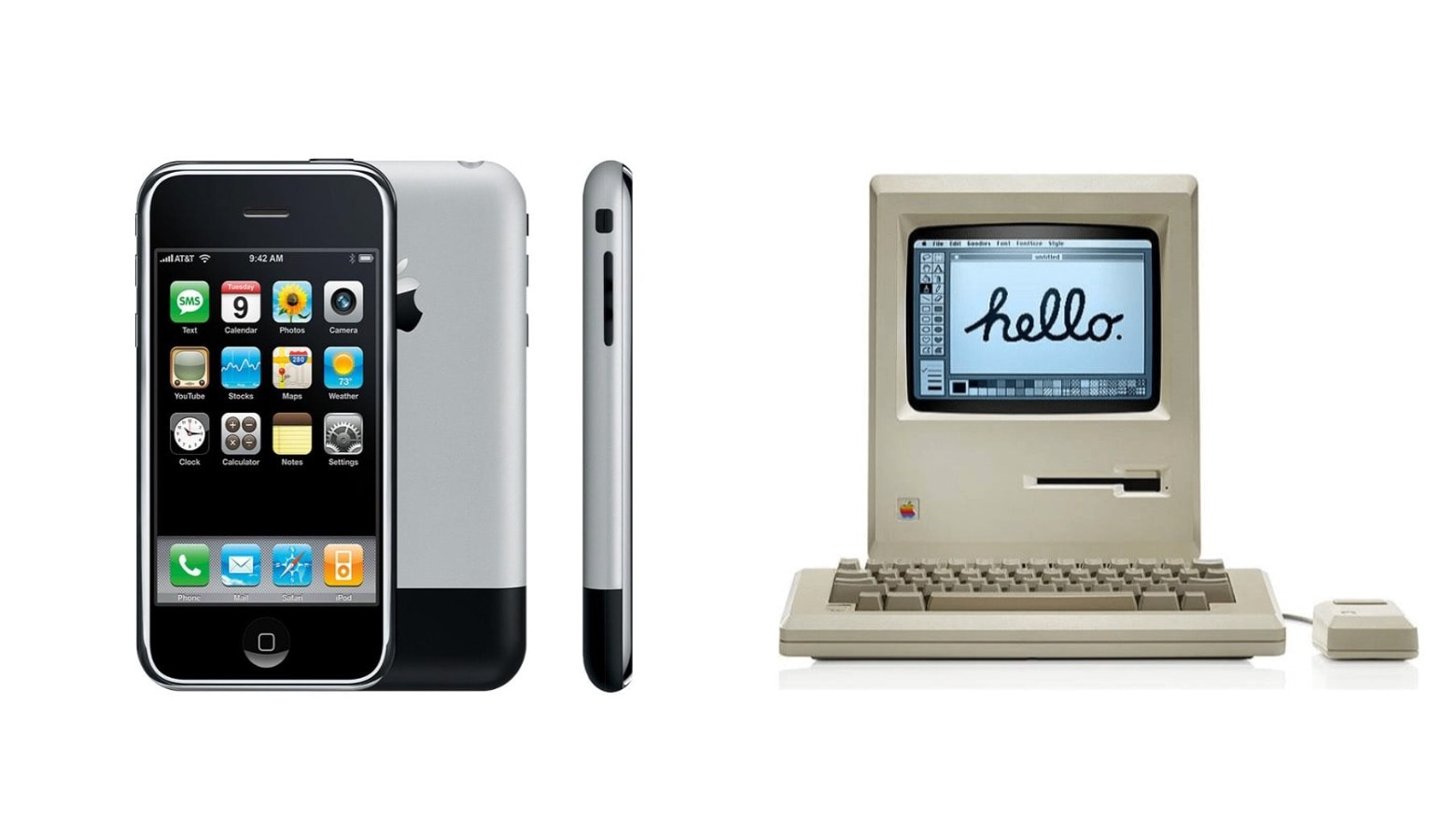 "Both iPhone and the 1984 Macintosh make Fortune's list of ""The greatest designs of modern times."""
