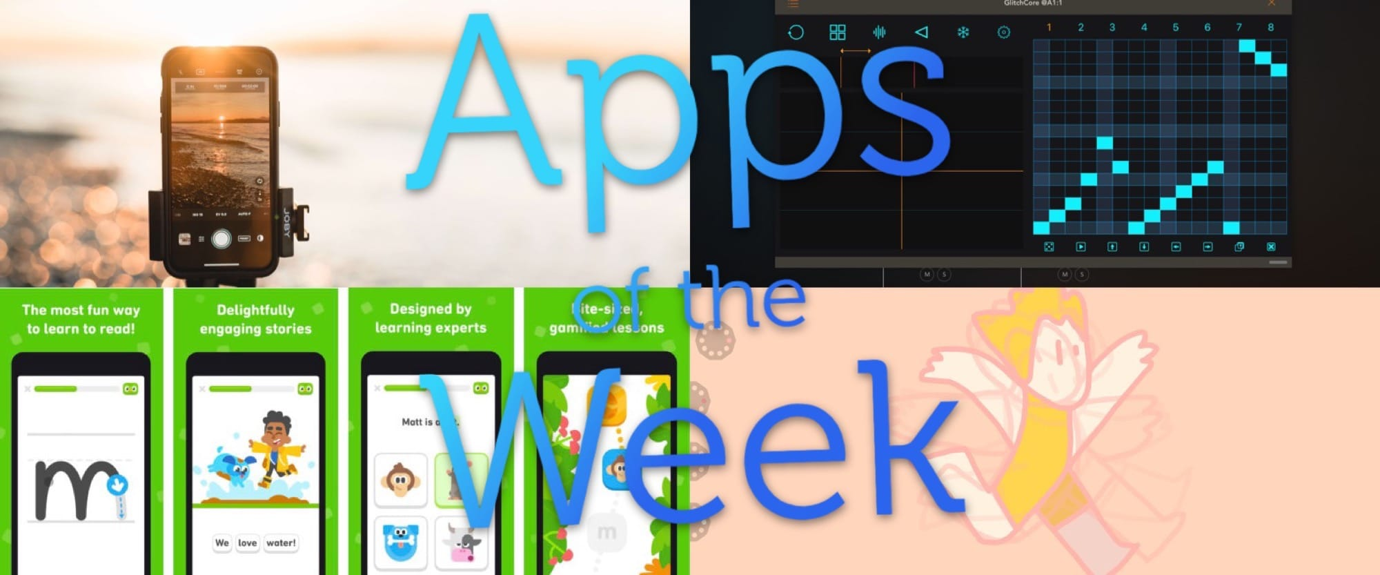 This week, some great apps for staying at home app roundup