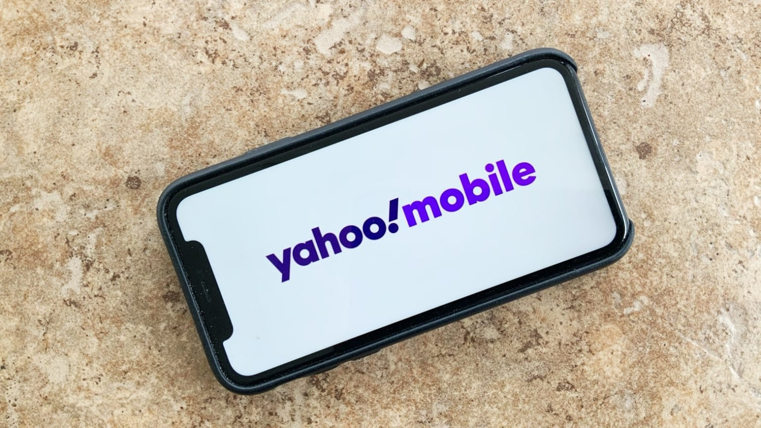 Yahoo Mobile on iPhone 11