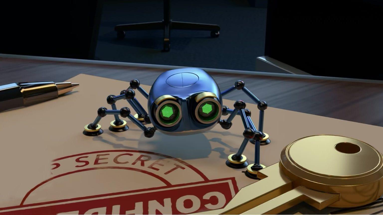 Spyder on Apple Arcade is a high-tech adventure.