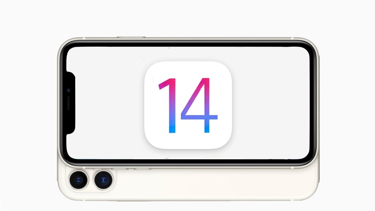 iOS 14 on an iPhone 11