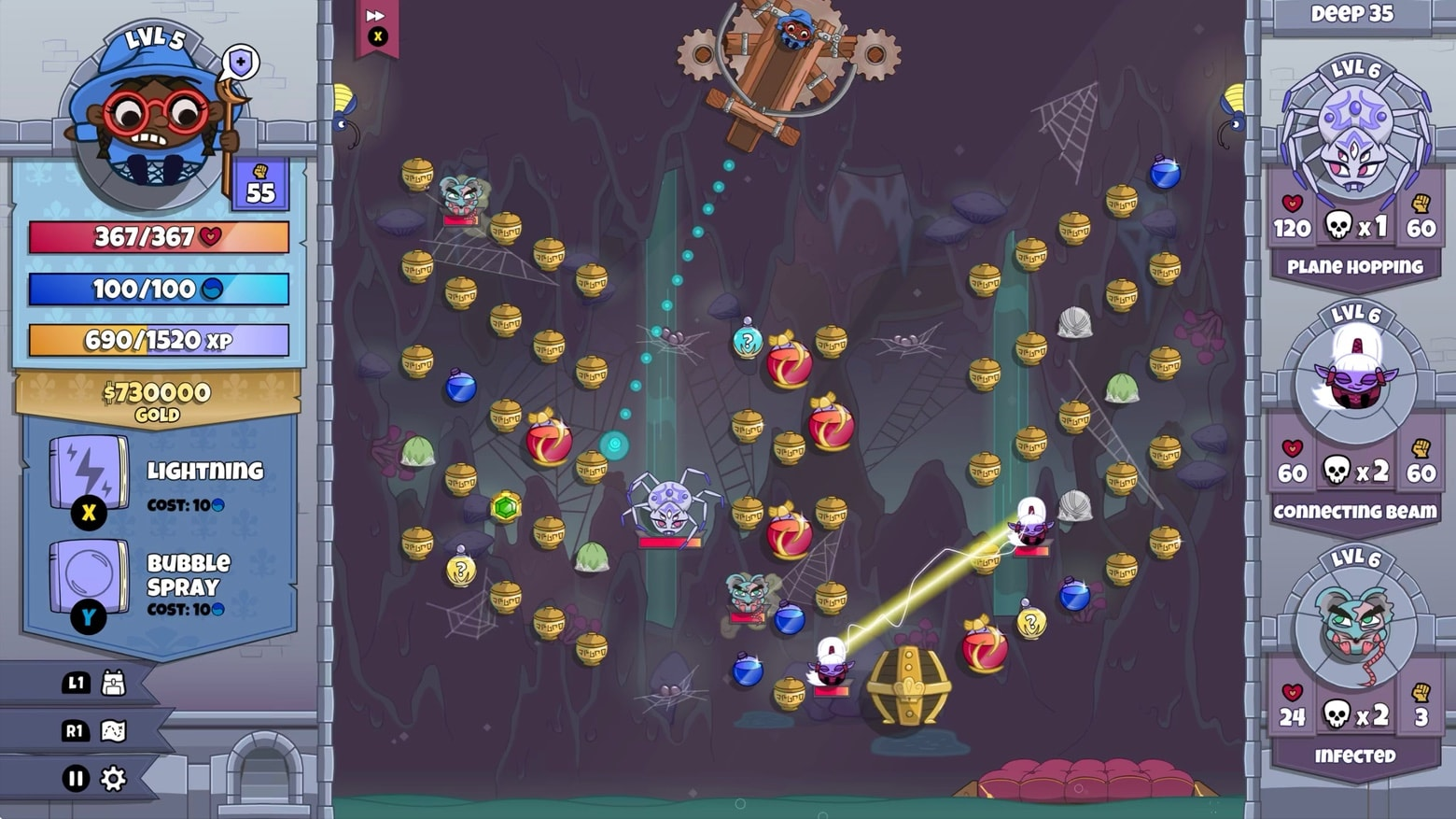 Bouncy dungeon crawler Roundguard ricochets into Apple Arcade