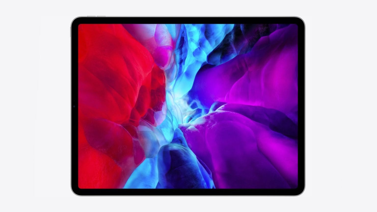 2020 iPad Pro with official wallpaper