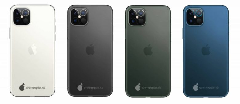 The 2020 iPhone 12 could come in multiple colors.